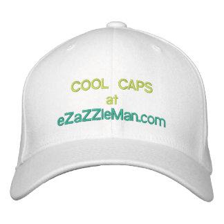 COOL CAPS @ eZaZZleMan.com Embroidered Hat