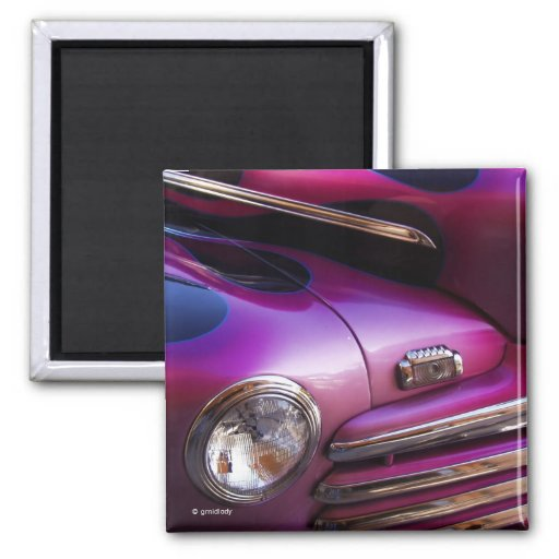 Cool Car 2 Inch Square Magnet