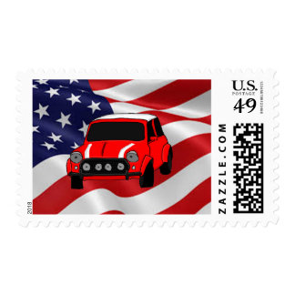 Cool car design cards and paper products postage