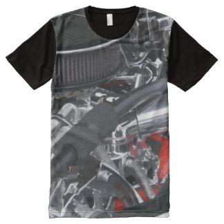 Cool Car Engine All-Over Print T-shirt