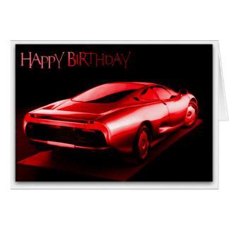 Happy Birthday Sports Car Cards Zazzle