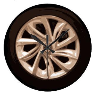 Cool Car Wheel hubcap clock