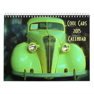Cool Cars 2015 Calendar