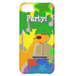 Cool Cartoon Dinosaur DJ Party iPhone 5C Case