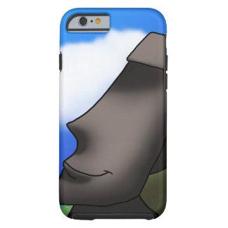 Cool Cartoon Easter Island Moai Head Tough iPhone 6 Case