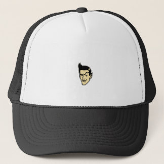 Cool Cartoon Face Trucker Hat
