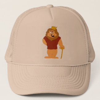 Cool Cartoon Lion Trucker Hat