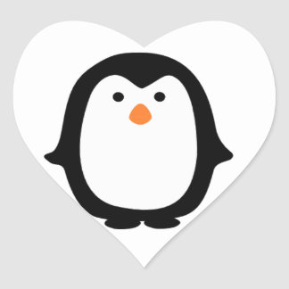 Cool Cartoon Penguin Stickers