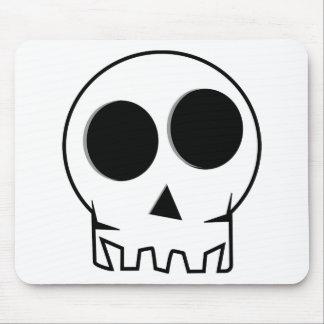 Cool Cartoon Skull Mouse Pad