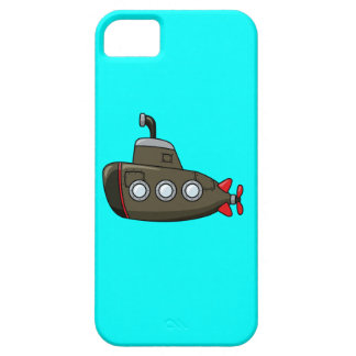 Cool Cartoon Submarine iPhone 5 Cases