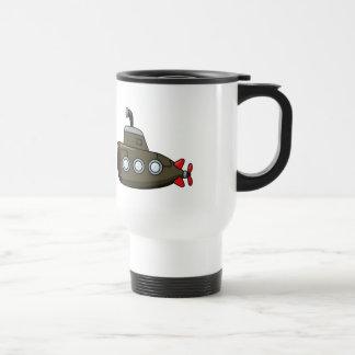 Cool Cartoon Submarine Travel Mug