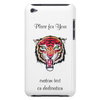 Cool cartoon tattoo symbol angry feral tiger iPod touch covers