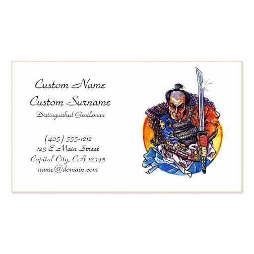 Cool cartoon tattoo symbol japanese Samurai Katana