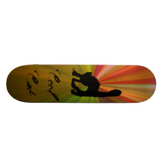 Cool Cat-autumn colors Skate Boards