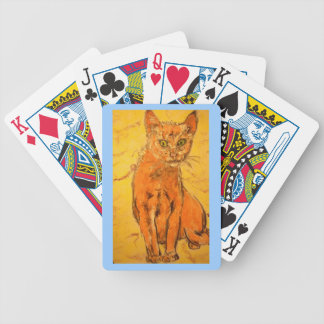 Cool Cat Bicycle Playing Cards