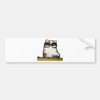 Cool Cat Bumper Sticker