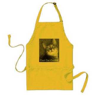 Cool Cat Cookin' Adult Apron