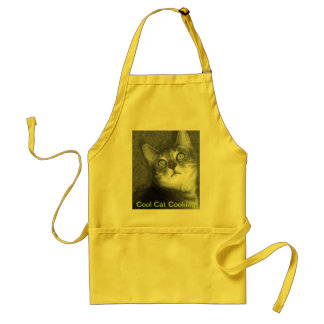 Cool Cat Cooking Adult Apron