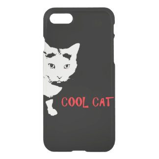 COOL CAT Custom iPhone 7 Clearly™ Deflector Case