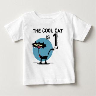 Cool Cat Customizable Birthday T-shirt