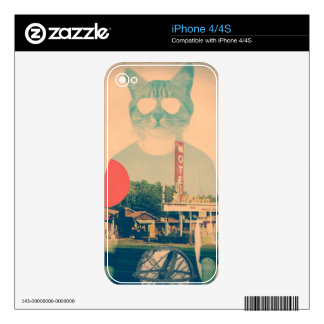 Cool Cat Decals For The iPhone 4