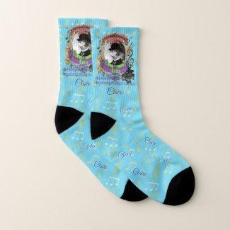 Cool Cat Erik Satie Catie Classical Music Socks