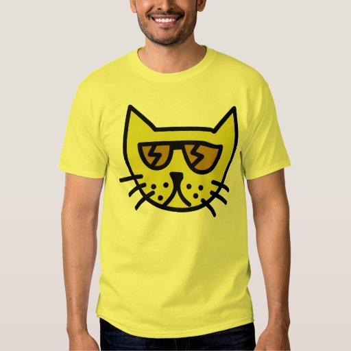Cool cat face T-Shirt