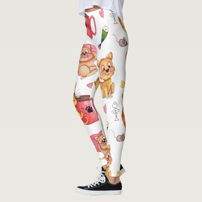 Animal Lover Cat and Dog Youth Leggings