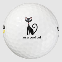 Cool Cat Golf Balls Set