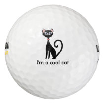 Cool Cat Golf Balls Set