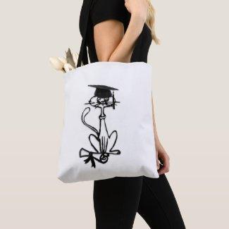 Cool Cat Graduation Crossbody Bag