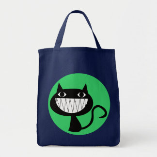 COOL CAT Grocery Tote Bag