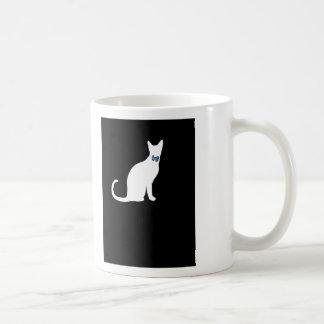 cool cat in a tux coffee mug