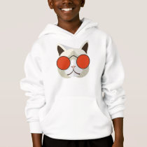 Cool Cat in Sunglasses Hoodie