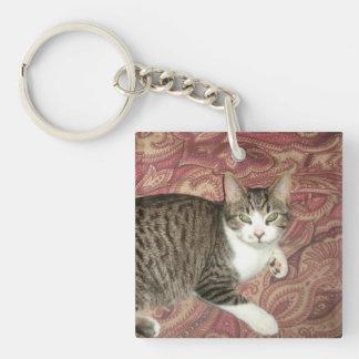 Cool Cat Keychain