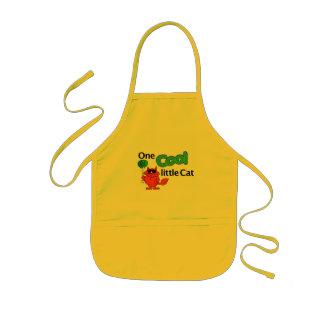 cool cat kids' apron