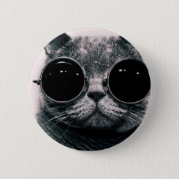cool cat kool kat with shades button