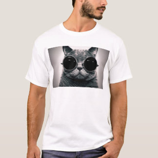 cool cat kool kat with shades T-Shirt