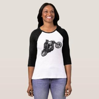 Cool Cat Motorcyclist T-Shirt
