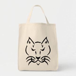 Cool Cat Organic Grocery Tote Bag