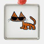 Cool Cat Ornaments