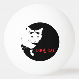 COOL CAT PING PONG BALL