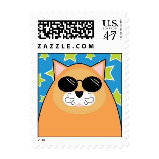 Cool Cat Postage