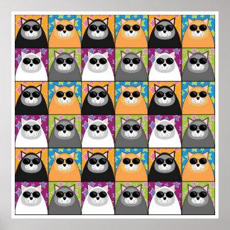 Cool Cat Print Large