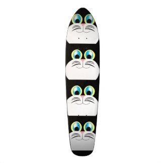 Cool cat skate board deck