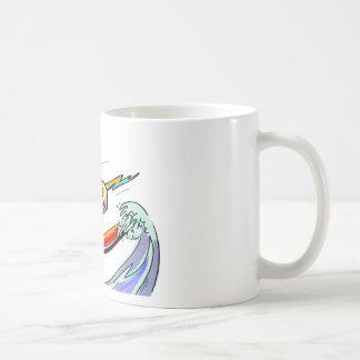 CooL CaT SuRfEr Coffee Mugs