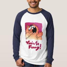 Cool Cat T Shirt   Cool Cartoon Cat Gifts
