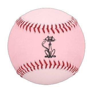 Cool Cat Two Tone Pink Baseball