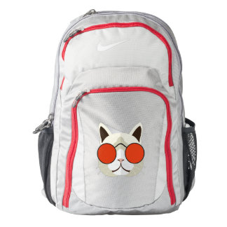 Cool Cat with Sunglasses Backpack