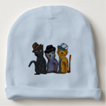 Cool Cats Baby Beanie